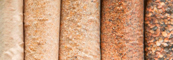 Песок натурального цвета