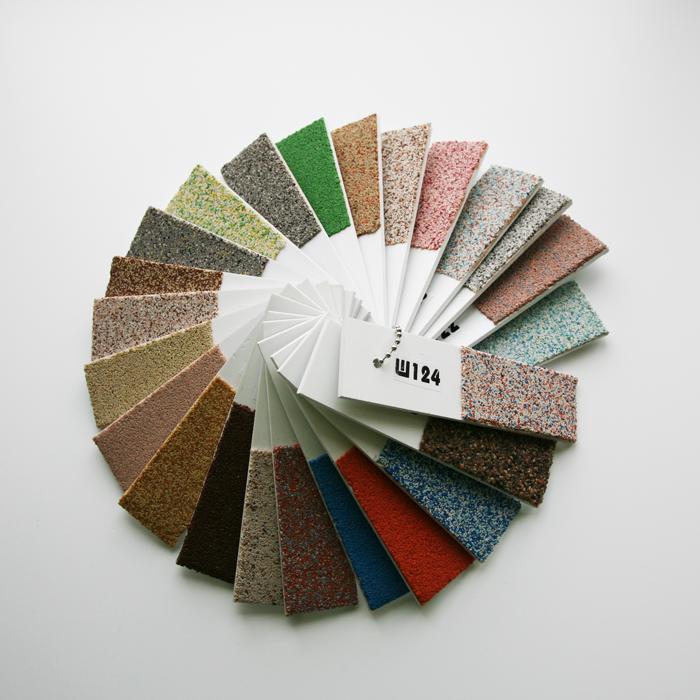 Цветные мозаичные штукатурки WallMix