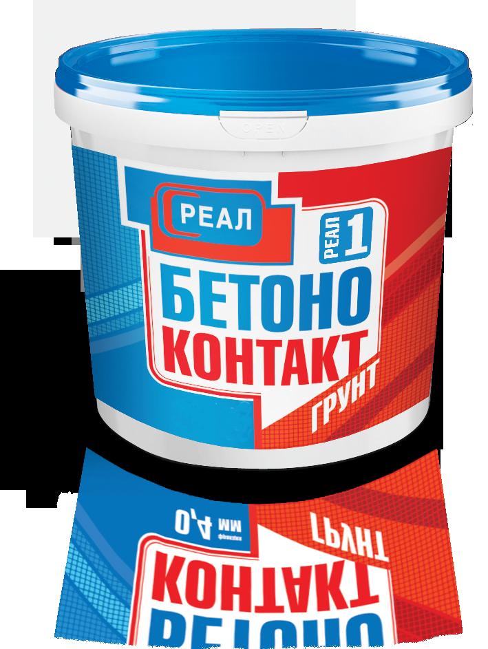 Грунтовка Бетоноконтакт РЕАЛ купить в СПб