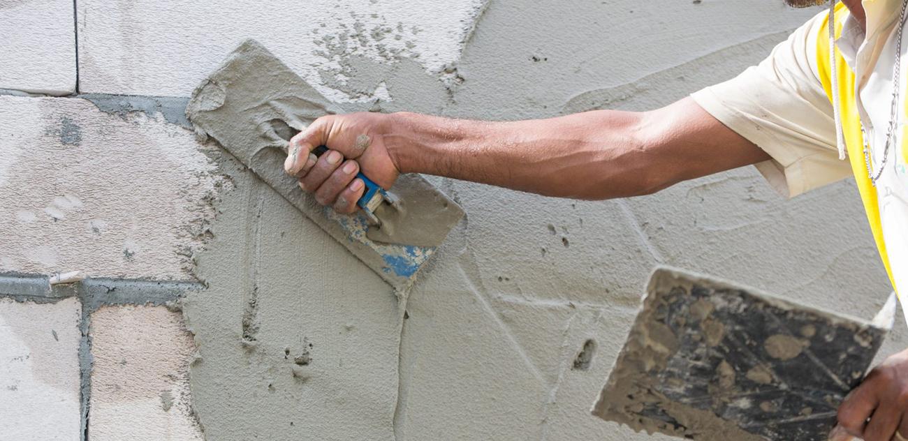 Штукатурка цементным раствором тер бетон марки 100