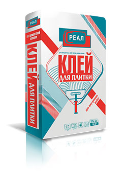 Клей для кафельной и керамической плитки РЕАЛ – купить в Санкт-Петербурге