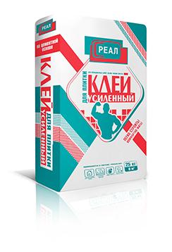 Усиленный клей для плитки РЕАЛ 25 кг — купить в Санкт-Петербурге