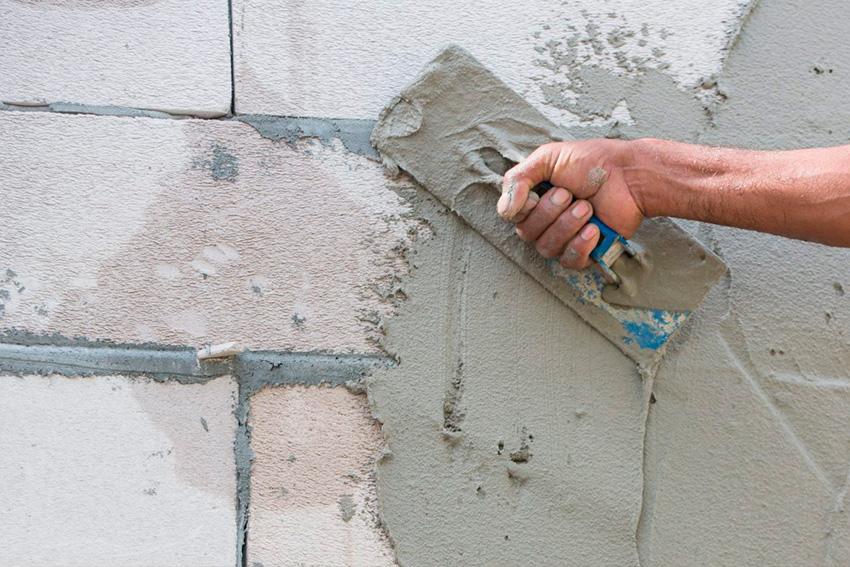 Можно ли штукатурить газоблоков цементным раствором архитектурный бетон технологии
